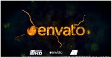 震撼爆炸Logo演绎动画AE模板