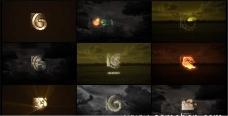 10种效果电影标志片头动画