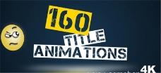 160组文字动画标题展示模板