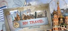 快乐旅游旅行生活AE模板
