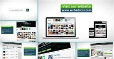 动态网站推广宣传动画AE模板