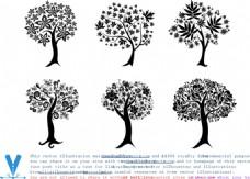 大树矢量图素材
