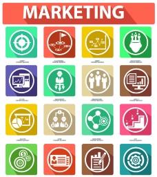 营销图标图片