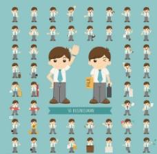 个性的卡通人物设计图片