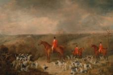野外猎狗图图片