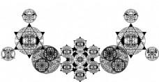 结构比较复杂的装饰图