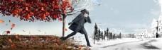 冬装冬季主题全屏背景素材 (15)