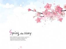 粉色可爱 淘宝天猫 海报背景图片
