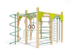 儿童攀爬设施图片