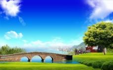 韩式自然背景图片