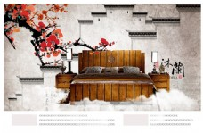 中式家具海报