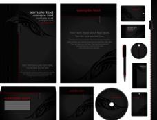 黑色VI设计图片