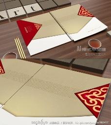 现代中国风艺术画册设计图片
