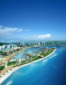 海滩旅游景观设计图片