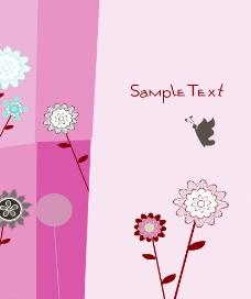 花儿与蝴蝶图片
