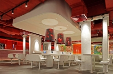 快餐厅图片