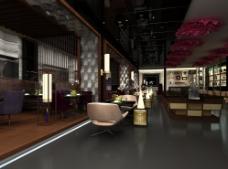 牡丹主题餐厅 大厅图片