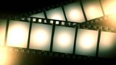 光效电影胶片动态背景视频素材