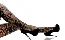 蕾丝袜美腿图片