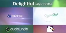 紫色梦幻Logo演绎动画AE模