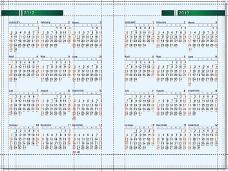 2012年-2013年日历