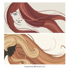 女人的发型