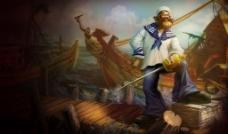 海洋之灾 普朗克英雄原图