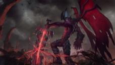 暗裔剑魔 亚托克斯英雄原图
