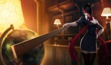 无双剑姬 菲奥娜 英雄原图