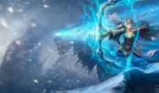 寒冰射手 艾希 英雄原图