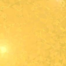 微妙光感多边形背景晶莹黄