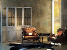 复古沙发 欧式沙发 古典图片