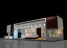3D展厅展览 展示设计模型图片