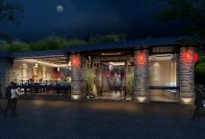 现代风格餐厅效果图图片