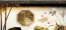 中式园林围挡图片