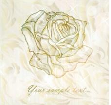 淡雅玫瑰 手绘玫瑰图片