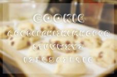 曲奇饼干英文字体