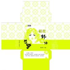 鲜花饼 桂花味 方盒图片