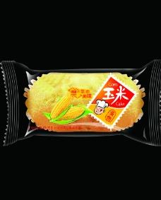 玉米蛋糕图片