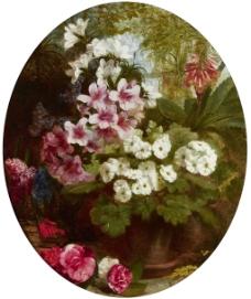 高清油画花卉