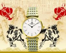 手表淘宝手表海报大图