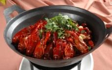 干锅小龙虾图片