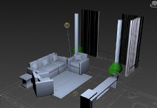 简单3D家具图片