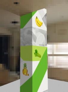 果园包柱图片