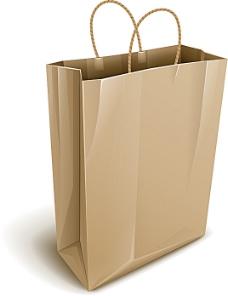 矢量手提袋设计素材