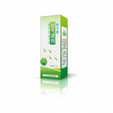 绿色自然药品盒子