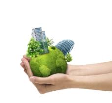 绿色城市环保图片