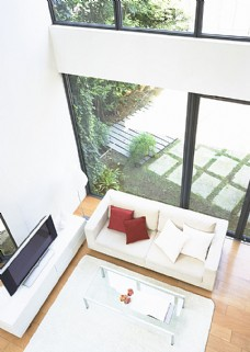 客厅俯视图