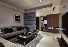 简单创意设计客厅效果图