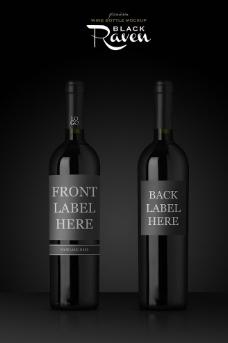 红酒效果图图片